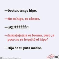 Jajaja no que no se le quitaba el hipo 😂😂😂 Humor Mexicano, Quites, Funny, Memes, Pranks, Mexican Humor, Meme, Ha Ha, Jokes
