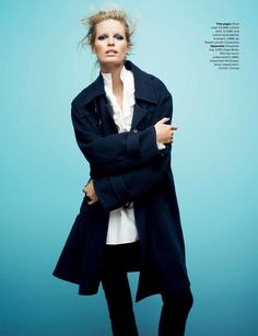 visual optimism; fashion editorials, shows, campaigns & more!: meet navy: caroline winberg by david vasiljevic for uk elle november 2013