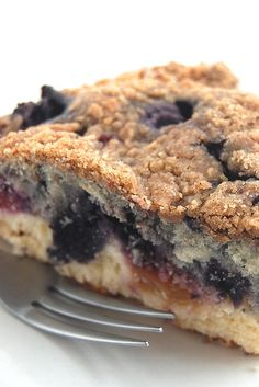 Peachberry Buckle Recipe