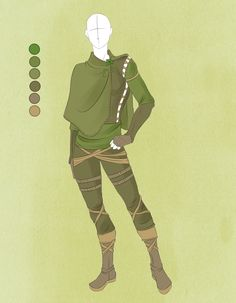 Commission outfit july 18 :: by violetky elf outfit, male elf, Character Creation, Character Art, Anime Outfits, Cool Outfits, Elf Clothes, Drawing Clothes, Dnd Characters, Character Design References, Character Outfits
