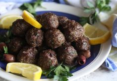 Greek Meatballs (AIP, Paleo, SCD, Whole30)