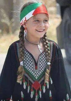 Sweet Palestinian girl