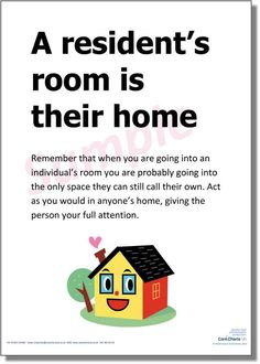 Too true: a resident's room is their home #dignityincare