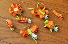 Collection of Hair Clips by ClaraLynnBows on etsy