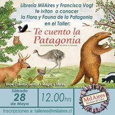 Taller del libro TE CUENTO LA PATAGONIA - MilAires, Boutique del Libro.