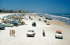 Daytona beach 1957. musclecars4ever