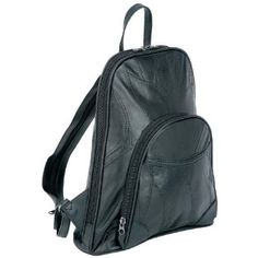 """Embassy Gen. Lambskin Purse \/ Backpack.  $12.12            Features full length zippered main compartment, shoulder straps, 2 exterior pockets, and 2 interior pockets. Strap unzips into a backpack. Measures 10-1/2"""" x 4"""" x 11-1/2"""".Full Length Zippered Main CompartmentShoulder StrapsStrap Unzips into a Backpack2 Exterior Pockets2 In..."""