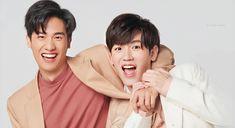 Thai Tea, Thai Drama, Asian Actors, Drama Movies, Boyfriend Material, Photo Cards, Baby Names, Cute Couples, Kdrama