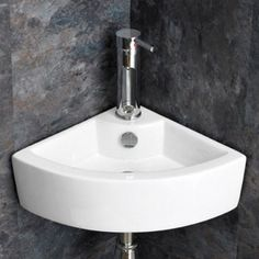 Good This Highest Quality Moda Surface Or Wall Mounted Corner Olbia Ceramic  Corner Wash Basin Is Perfect For Smaller Sized Rooms, And, En Suites And  Cloak Rooms. Nice Ideas