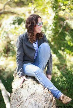 Si necesitas ir cómoda ya sebes...Be loved  Camisetas, Kiabi  Chaquetas and Zara  Jeans