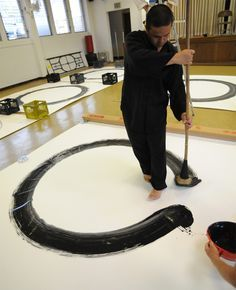 Zen on Pinterest | Circles, Buddhists and Calligraphy