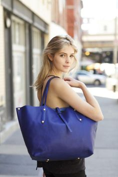 Isabella Item Tote in Persian Blue. Meibaokong · Annabel Ingall a6f8b80ff18d3