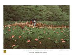 Benton Shrine Prints by Kawase Hasui at AllPosters.com