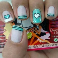 Gel Nail Designs You Should Try Out – Your Beautiful Nails Funky Nails, Love Nails, Pretty Nails, My Nails, Short Nail Designs, Toe Nail Designs, Simple Nail Designs, French Nails, Gel Nagel Design