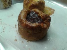 Baked cheese croissant cake...