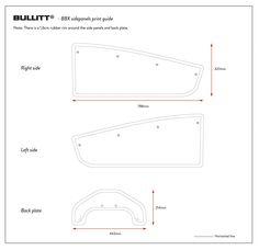 Bullitt Cargo Bike, Velo Cargo, Bike Design, Diy Box, Side Panels, Larry, Boxes, Hacks, Templates