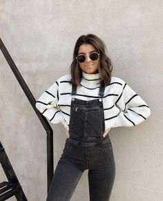 How to wear a jumpsuit: 30 outfit ideas for every occasion .- So tragen Sie einen Overall: 30 Outfit-Ideen für jeden Anlass How to wear a jumpsuit: 30 outfit ideas for every occasion - 30 Outfits, Mode Outfits, Trendy Outfits, Summer Outfits, Fashion Outfits, Outfits With Overalls, Womens Fashion, Fashion Ideas, Fashion Trends