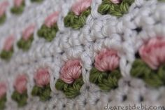 I love coming up with new stitch patterns. The Crochet Window Flower Stitch is…