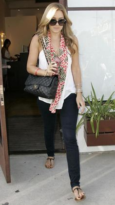 Lauren Conrad's Chic Street Style - 2008 - from InStyle.com