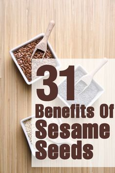 31 Amazing Benefits And Uses Of Sesame Seeds
