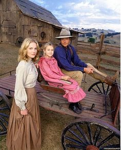 love comes softly. I want to live just like how they lived. Chickens. In the country. Treehouse. Farm. Wagons. Dresses. It's perfect!