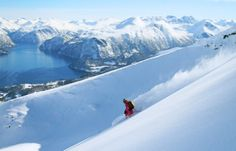 Ski touring: The mountains of Fjord Norway are perfect for ski touring and backcountry skiing.