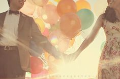 """""""Up"""" (Movie) themed engagement shoot"""