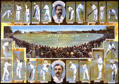 Australia vs. England, 1895.