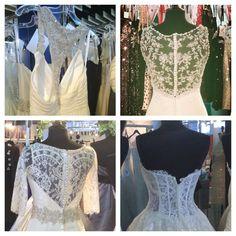 Beautiful backs from Allure Bridal