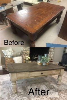 34 Perfect Diy Rustic Coffee Table Design Ideas And Remodel. If you are looking for Diy Rustic Coffee Table Design Ideas And Remodel, You come to the right place. Here are the Diy Rustic Coffee Table. Refurbished Furniture, Farmhouse Furniture, Repurposed Furniture, Furniture Makeover, Painted Furniture, Furniture Storage, Rustic Furniture, Antique Furniture, Driftwood Furniture