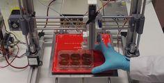 El gijonés Jorcano lidera el diseño de una impresora en 3D que crea piel humana
