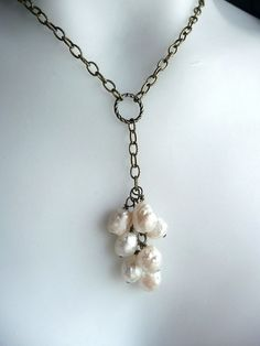 Necklace - this with my sunstone drops