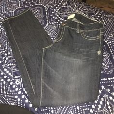 Jeggings! Cute faded jeggings-never worn!! Maurices Pants Skinny