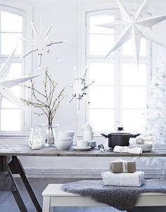 Белоснежные идеи новогоднего декора .Вдохновляемся:)Всем приятного просмотра.