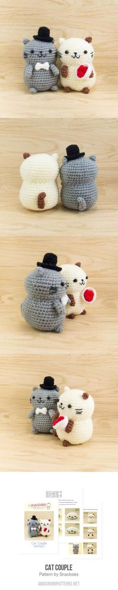 Cat Couple Amigurumi Pattern