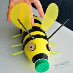 """Résultat de recherche d'images pour """"abeille art plastique maternelle"""""""