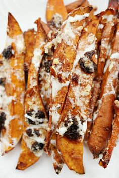 ... sweet potato wedges combine sweet, salty and crunchy into one amazing