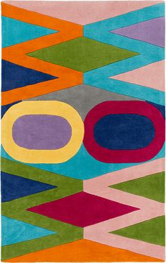 Mod Pop MPP4507 Area Rug Enter in Account Code Field During Checkout Free Standard Shipping When You Purchase This Item**Continental US and Rugs less than 8'