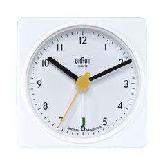Braun Classic Quiet German Quartz Analog Clock