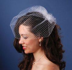 Pretty wedding hair...