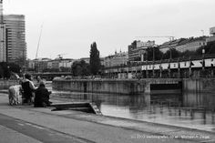 Juli - Am Donaukanal Angler Street View, Building, Travel, Photos, Buildings, Viajes, Traveling, Tourism, Outdoor Travel