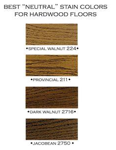 neutral stain colors for hardwood floors Hardwood Floor Stain Colors, Wood Stain Colors, Hardwood Floors, Paint Colors, Wood Flooring, Minwax Stain Colors, Modern Flooring, Basement Flooring, Walnut Wood Floors