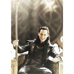 Up All Night to Get Loki'd ❤ liked on Polyvore featuring marvel, loki, tom hiddleston, people y photos