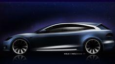Tesla Model S shooti