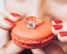 There's no better Valentine's Day gift than diamonds and dessert!