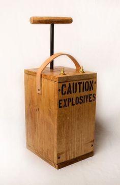 Replica Blasting Machine Movie Photography Dynamite Prop TNT Fake Detonator C4 | eBay