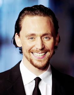 Tom and his gorgeous smile.