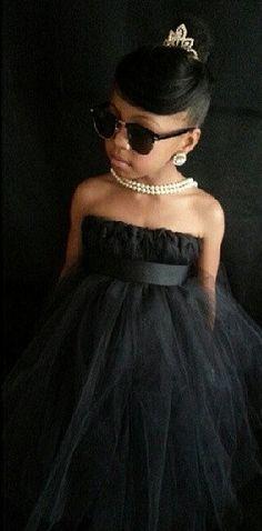 Breakfast at Tiffany's black tutu dress by MikylanMiliahscloset, $32.00