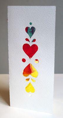 Puppy Love Preschool: DIY Valentine Kid Craft Art Cards