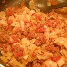 Ground Beef and Cabbage Allrecipes.com